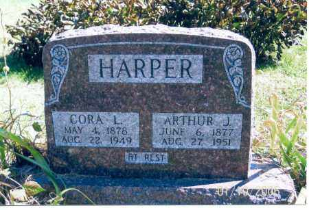 MURRAY HARPER, CORA L. - Vinton County, Ohio | CORA L. MURRAY HARPER - Ohio Gravestone Photos