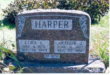 HARPER, CORA L. - Vinton County, Ohio | CORA L. HARPER - Ohio Gravestone Photos