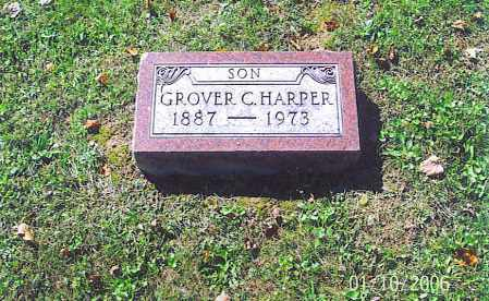 HARPER, GROVER C. - Vinton County, Ohio | GROVER C. HARPER - Ohio Gravestone Photos