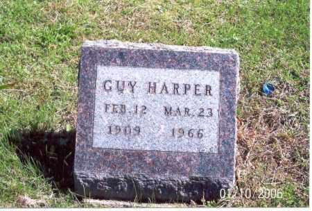 HARPER, GUY - Vinton County, Ohio | GUY HARPER - Ohio Gravestone Photos