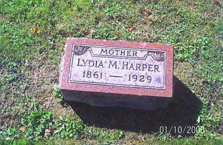 LOVING HARPER, LYDIA M. - Vinton County, Ohio | LYDIA M. LOVING HARPER - Ohio Gravestone Photos