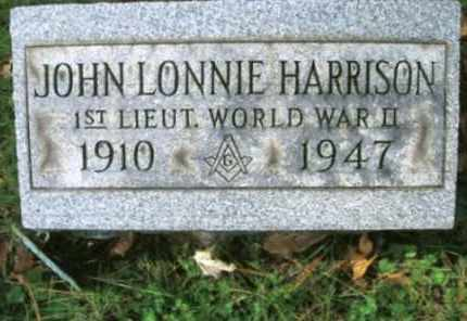 HARRISON, JOHN LONNIE - Vinton County, Ohio | JOHN LONNIE HARRISON - Ohio Gravestone Photos