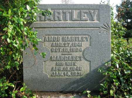 HARTLEY, AMOS - Vinton County, Ohio | AMOS HARTLEY - Ohio Gravestone Photos