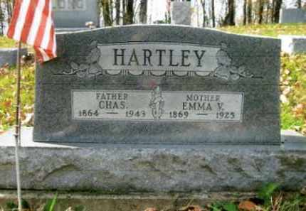 SAWYER HARTLEY, EMMA V. - Vinton County, Ohio | EMMA V. SAWYER HARTLEY - Ohio Gravestone Photos