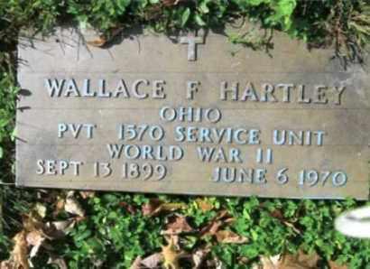 HARTLEY, WALLACE - Vinton County, Ohio | WALLACE HARTLEY - Ohio Gravestone Photos