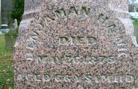HAWK, BENJAMIN - Vinton County, Ohio | BENJAMIN HAWK - Ohio Gravestone Photos