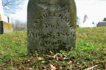 HAWK, SAMUEL - Vinton County, Ohio | SAMUEL HAWK - Ohio Gravestone Photos