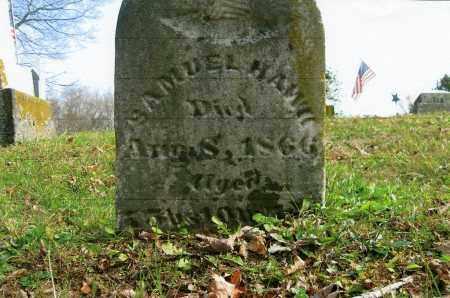 HAWK, SAMUEL - Vinton County, Ohio   SAMUEL HAWK - Ohio Gravestone Photos