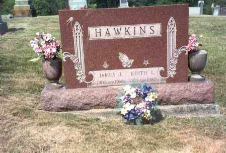 BACUS HAWKINS, EDITH L. - Vinton County, Ohio | EDITH L. BACUS HAWKINS - Ohio Gravestone Photos