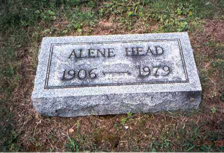 MCLAUGHLIN HEAD, ALENE - Vinton County, Ohio | ALENE MCLAUGHLIN HEAD - Ohio Gravestone Photos