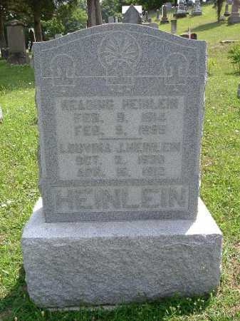HUGGINS HEINLEIN, LOUVINA J. - Vinton County, Ohio | LOUVINA J. HUGGINS HEINLEIN - Ohio Gravestone Photos