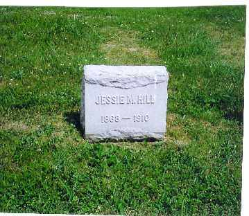HILL, JESSIE M. - Vinton County, Ohio | JESSIE M. HILL - Ohio Gravestone Photos