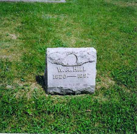 HILL, W.A. - Vinton County, Ohio | W.A. HILL - Ohio Gravestone Photos