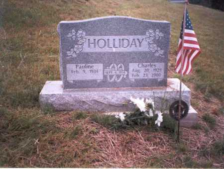 HOLLIDAY, CHARLES - Vinton County, Ohio | CHARLES HOLLIDAY - Ohio Gravestone Photos