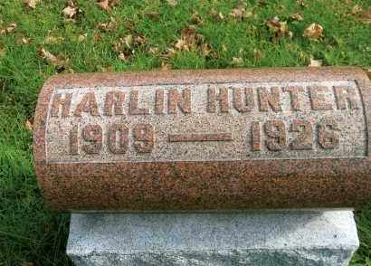 HUNTER, ERNEST HARLIN - Vinton County, Ohio | ERNEST HARLIN HUNTER - Ohio Gravestone Photos