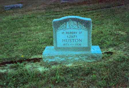 HUSTON, JAP - Vinton County, Ohio   JAP HUSTON - Ohio Gravestone Photos
