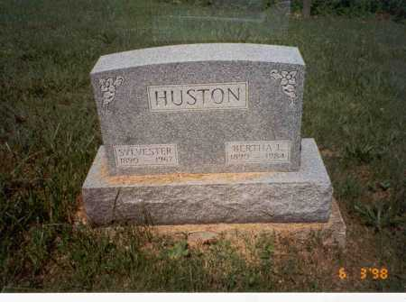 HUSTON, SYLVESTER - Vinton County, Ohio | SYLVESTER HUSTON - Ohio Gravestone Photos