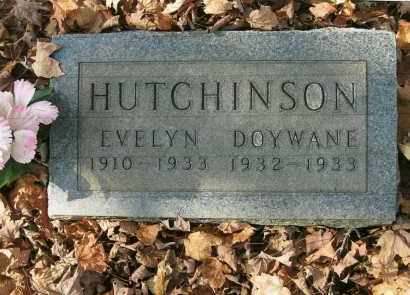 HUTCHINSON, EVELYN - Vinton County, Ohio | EVELYN HUTCHINSON - Ohio Gravestone Photos