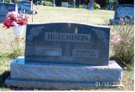 HUTCHISON, BURNEEDA - Vinton County, Ohio | BURNEEDA HUTCHISON - Ohio Gravestone Photos