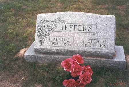 COOPER JEFFERS, ETTA M. - Vinton County, Ohio | ETTA M. COOPER JEFFERS - Ohio Gravestone Photos