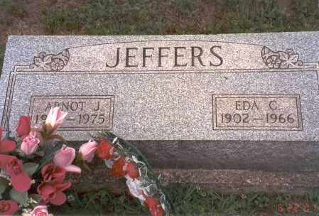 JEFFERS, ARNOT J. - Vinton County, Ohio | ARNOT J. JEFFERS - Ohio Gravestone Photos