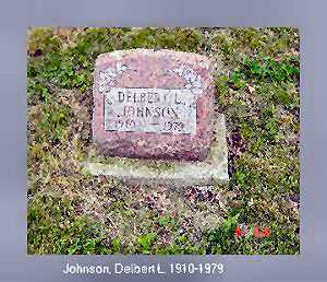 JOHNSON, DELBERT L. - Vinton County, Ohio | DELBERT L. JOHNSON - Ohio Gravestone Photos