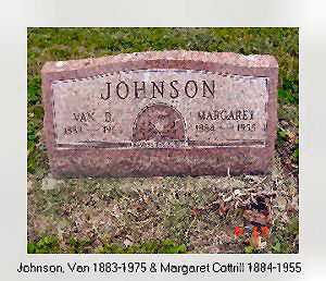 JOHNSON, VAN BUREN - Vinton County, Ohio | VAN BUREN JOHNSON - Ohio Gravestone Photos