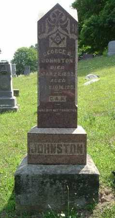 JOHNSTON, GEORGE B. - Vinton County, Ohio | GEORGE B. JOHNSTON - Ohio Gravestone Photos