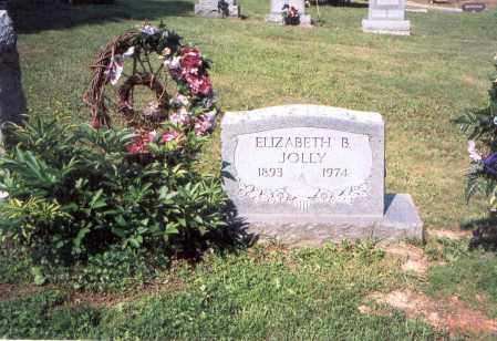JOLLY, ELIZABETH - Vinton County, Ohio | ELIZABETH JOLLY - Ohio Gravestone Photos