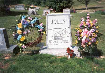 COTTRILL JOLLY, JANICE ROSETTA - Vinton County, Ohio | JANICE ROSETTA COTTRILL JOLLY - Ohio Gravestone Photos