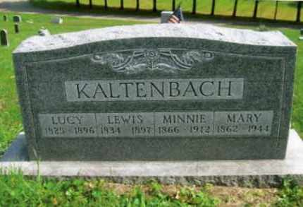 KALTENBACH, MINNIE - Vinton County, Ohio | MINNIE KALTENBACH - Ohio Gravestone Photos