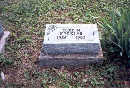 LOWE KESSLER, ELSIE M. - Vinton County, Ohio | ELSIE M. LOWE KESSLER - Ohio Gravestone Photos