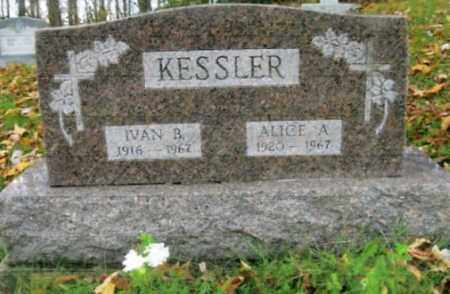 KESSLER, ALICE A. - Vinton County, Ohio | ALICE A. KESSLER - Ohio Gravestone Photos