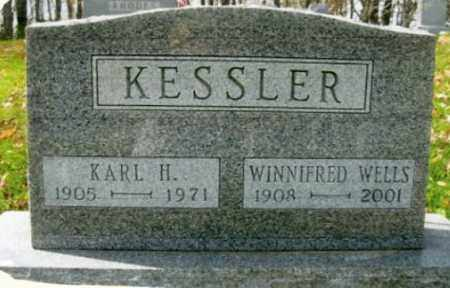 WELLS KESSLER, WINNIFRED - Vinton County, Ohio | WINNIFRED WELLS KESSLER - Ohio Gravestone Photos