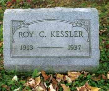 KESSLER, ROY C. - Vinton County, Ohio | ROY C. KESSLER - Ohio Gravestone Photos