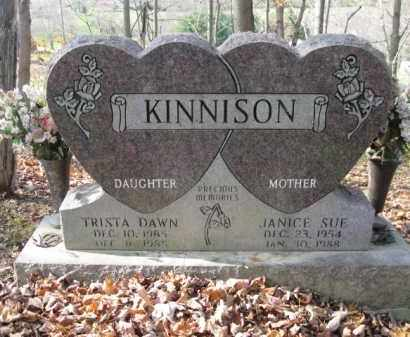 KINNISON, TRISTA DAWN - Vinton County, Ohio | TRISTA DAWN KINNISON - Ohio Gravestone Photos