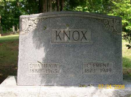 KNOX, CHARITY A. - Vinton County, Ohio | CHARITY A. KNOX - Ohio Gravestone Photos