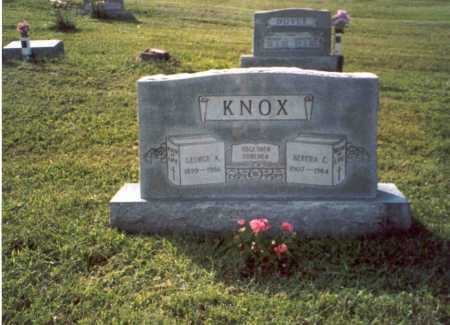 KNOX, GEORGE A. - Vinton County, Ohio | GEORGE A. KNOX - Ohio Gravestone Photos