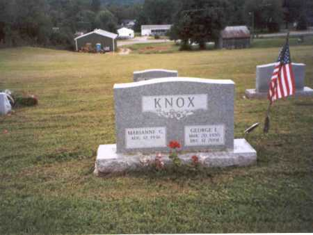 KNOX, GEORGE L. - Vinton County, Ohio | GEORGE L. KNOX - Ohio Gravestone Photos