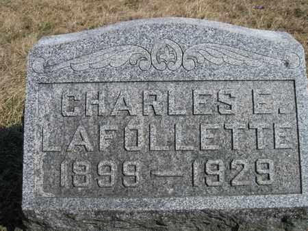 LAFOLLETTE, CHARLES ERNEST - Vinton County, Ohio | CHARLES ERNEST LAFOLLETTE - Ohio Gravestone Photos