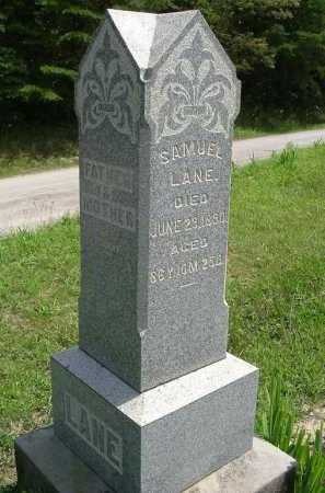 LANE, SAMUEL - Vinton County, Ohio | SAMUEL LANE - Ohio Gravestone Photos