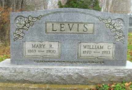 LEVIS, WILLIAM CHAPMAN - Vinton County, Ohio | WILLIAM CHAPMAN LEVIS - Ohio Gravestone Photos