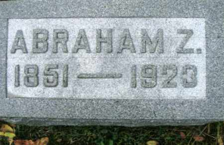 LONG, ABRAHAM Z. - Vinton County, Ohio | ABRAHAM Z. LONG - Ohio Gravestone Photos