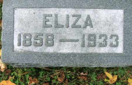 LONG, ELIZA - Vinton County, Ohio | ELIZA LONG - Ohio Gravestone Photos