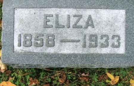 LIBBY LONG, ELIZA - Vinton County, Ohio | ELIZA LIBBY LONG - Ohio Gravestone Photos