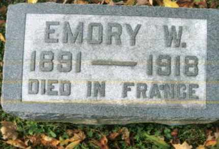 LONG, EMORY W. - Vinton County, Ohio | EMORY W. LONG - Ohio Gravestone Photos