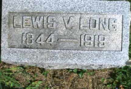 LONG, LEWIS V. - Vinton County, Ohio | LEWIS V. LONG - Ohio Gravestone Photos