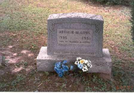 LOWE, ARTHUR M. - Vinton County, Ohio | ARTHUR M. LOWE - Ohio Gravestone Photos