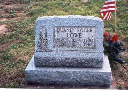 LOWE, DUANE ROGER - Vinton County, Ohio | DUANE ROGER LOWE - Ohio Gravestone Photos