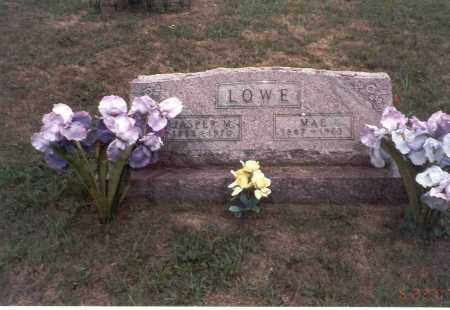 LOWE, MAE - Vinton County, Ohio | MAE LOWE - Ohio Gravestone Photos